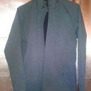 Women's jacket with hoodie medium-sized